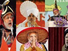 When PM Narendra Modi made style statements with his impeccable, suave attires