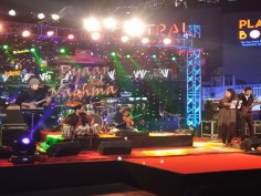 In Pics Mrigya band sets the stage on fire with their rocking performance Santosh Anand croons Ek Pyaar Ka Nagma hai