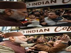 PM Modi sips coffee on Mall Road in Shimla takes a trip down memory lane
