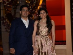 Akash Ambani Shloka Mehta post engagement party pictures Shah Rukh Khan Katrina Kaif attend function at Antilia