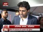 I listen to dad's Hanuman Chalisa daily: Abhishek Bachchan
