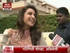 Parineeti and Aditya Roy Kapoor visit Fatehpur Seekri Dargah
