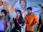 Sonakshi gets angry on the music launch of R Rajkumar