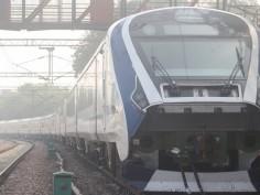 Train 18 reaches Prayagraj on its test run