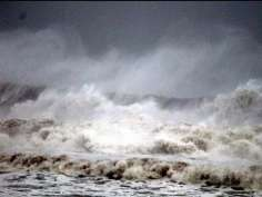 Arriving of the Cyclone Phailin