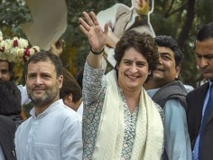 Priyanka Gandhi roars into UP with mega roadshow to woo voters ahead of Lok Sabha Elections 2019