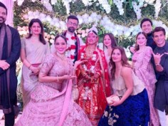 In Pics: Bipasha sizzles with husband Karan Grover on sister Vijayeta' marriage