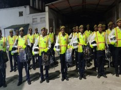 Lucknow Traffic Police gets swanky new upgrade fluorescent jackets gloves white helmet