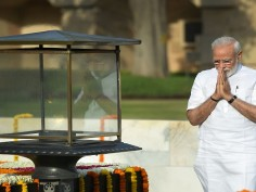Modi Sarkar 2.0 pays tribute to Mahatma Gandhi, Atalji and martyrs before glittering swearing-in ceremony