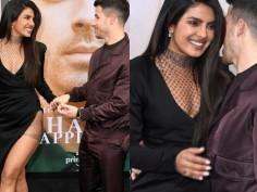 Priyanka Chopra is setting hair-raising fashion goals in thigh-high slit Galia Lahav black gown