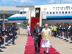 From holding bilateral talks to planting trees - a look back at PM Modi's Sri Lanka visit