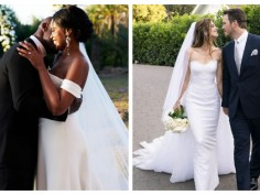 Check out these gorgeous wedding pictures of celebrities who exchanged their vows this 2019