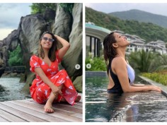 Naagin star Anita Hassanandani's 'just another day at the pool' pictures are perfect to beat the heat