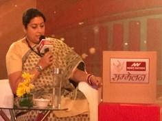 Hamari Sansad Sammelan: Session 9 – People of Amethi taught Rahul Gandhi a lesson, says Smriti Irani