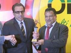 Dharam ji honoured with lifetime achievement award