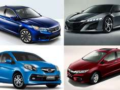 Honda cars to be showcased at Auto Expo 2014