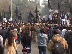 1984 riots: Sikh groups protest against Rahul Gandhi in Delhi
