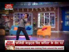 Tiger Shroff in Comedy Nights