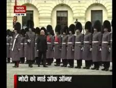 PM Modi gets guard of honour in UK