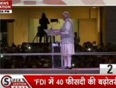 FDI is 'First Develop India', says Modi