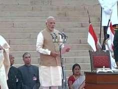 IN PICS: Narendra Modi becomes PM