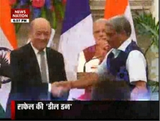 Rafale's deal done!