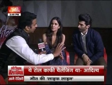 Katrina- Aditya talk about their role in Fitoor