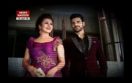 Serial Aur Cinema: Grand reception of Divyanka and Vivek