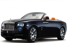 G3: Rolls-Royce unveils luxury car Dawn