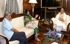 Do what Vajpayee did to win hearts in Kashmir: Mehbooba to PM Modi