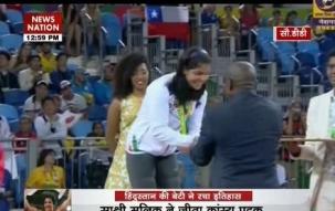Sakshi Malik wins 'historic' bronze medal for India in wrestling