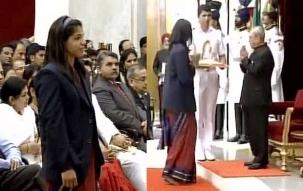 Super 50: President confers Khel Ratna Awards to Rio heroes