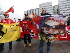 Prayers heard, Schumacher defeats coma