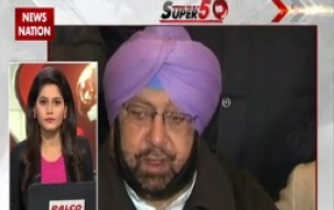 11 AM Speed News: Captain Amrinder Singh to file nomination today