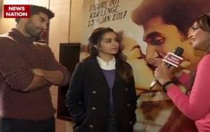Aditya Roy Kapur, Shraddha Kapoor talks about movie OK Jannu