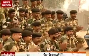 Lyricist Santosh Anand sings patriotic songs for BSF soldiers