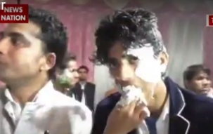 Shivpal Yadav's birthday cake