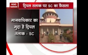 SC says Triple Talak is not an issue on Uniform Civil Code