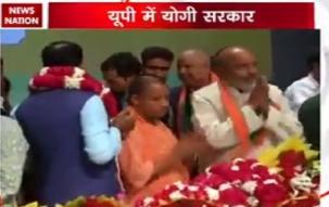 Yogi Adityanath chosen as legislature party leader
