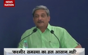 Manohar Parrikar: Quit as defence minister due to pressure of issues like Kashmir