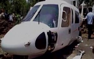 Chopper carrying Devendra Fadnavis crash lands in Latur