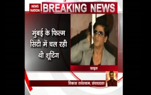 Shah Rukh Khan escapes injury on set of Aanand L Rai's film
