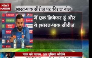 Stadium: India humiliate Pakistan, clinch 124 run victory