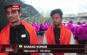 World Para Athletics Championships 2017: India's Varun Singh Bhati, Sharad Kumar win medals in men's High Jump