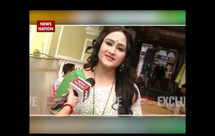 Serial Aur Cinema: Aditi Sajwan distributes Indian flag on sets of Chidiya Ghar on Independence Day
