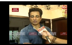Bollywood actor Sonu Sood celebrates Ganesh Chaturthi with fun and frolic