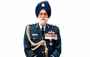 Last rites ceremony of Marshal of Air Force  Arjan Singh