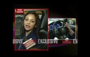 Serial Aur Cinema: Kajol of 'Chakravartin Ashoka Samrat' presents her driving skills