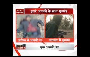 J&K: Security forces gunned down one militant in Handwara