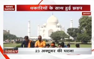 Hindu outfits chant 'Shiva Chalisa' at Taj Mahal